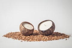 Coconut Candle (2 pieces)