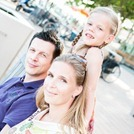Manon en Goran en hun dochter Lana